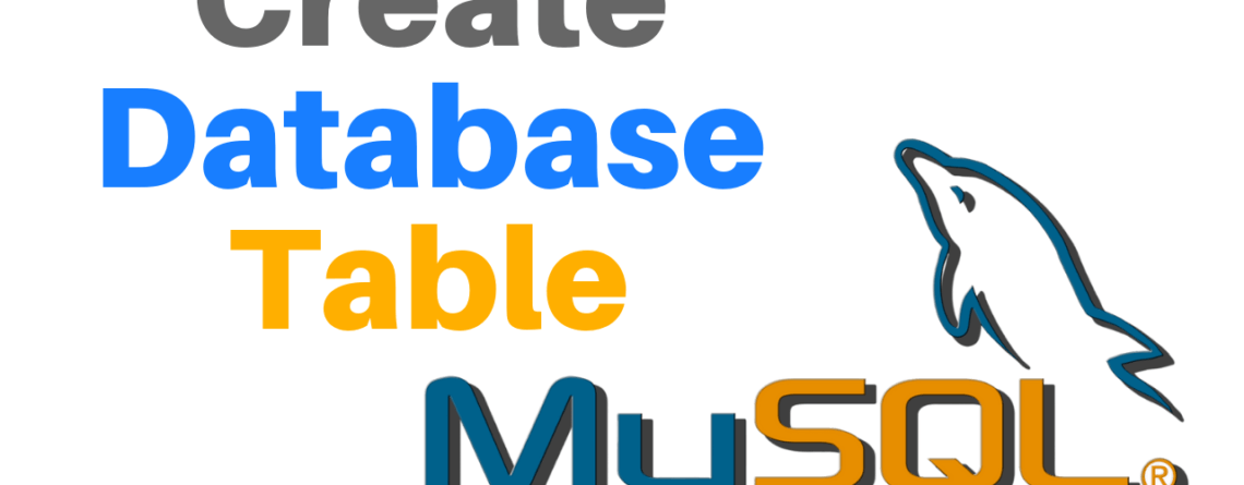 create mysql database table